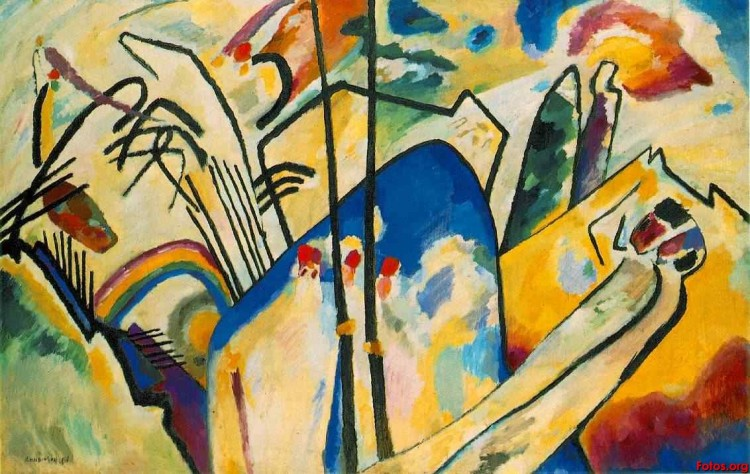 Abstract art by Wassily Kandinsky